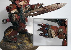 Chaos Contemptor Close Combat Weapons Feature (Rovient) Tags: chaos 40k warhammer dreadnought wordbearers contemptor