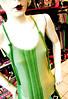 * serie pechera * simple (pléyades-ropa tejida) Tags: color thread shirt cotton seda ropa remera textil algodon tejida musculosa pleyades