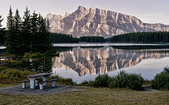Morning Glory at Two Jack Lake (Jeff Clow) Tags: bravo mountrundle albertacanada banffnationalpark twojacklake nikond700