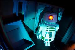 R2-WhoAreYou!?! (Fun Friday) (Alan Rappa) Tags: vacation robot starwars orlando florida resort disneyworld queue wdw waltdisneyworld themepark droid attraction 2012 startours waltdisneyworldresort r2unit funfriday