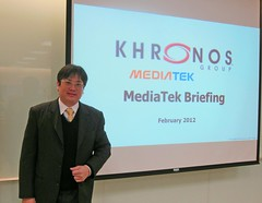 Dr Liang - Mediatek (Khronos Group) Tags: kite education technology developers khronos devu