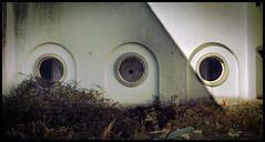 Tres (Mark B. Duncan) Tags: old broken canon three decay 5d tres hdr guadarrama sanitarium enfoqueatreses