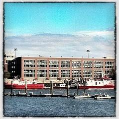 From Jeffries Point (TheBeachSaint) Tags: boston boats pier boat massachusetts eastboston massport