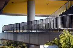 Concrete And Steel (nrhodesphotos(the_eye_of_the_moment)) Tags: lines architecture concrete epcot flora florida steel angles ramps ceiling column lightfixture nrhodesphotosyahoocom wwwflickrcomphotostheeyeofthemoment dsc8547nhr