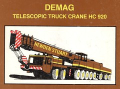 Brochure Front Cover (Bournemouth 71B / 70F) Tags: mobile big cabin lift drum crane head duty large cable boom cranes block chassis hook derrick root heavy load jib strut sections slew ballast lifting hoist telescopic capacity counterweight outriggers demag