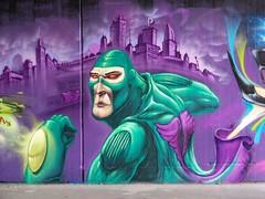 rumblezee (Pixeljuice23) Tags: streetart graffiti wiesbaden mainz friendlyfire pixeljuice