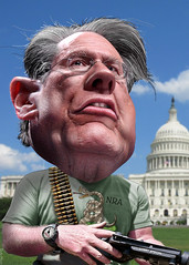 NRA CEO Wayne LaPierre's Lies: Obama Wants to Take Away Rifles, Shotguns and Handguns from Law-Abiding Citizens