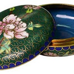 "<b>Round Covered Box</b><br/> Unknown (Chinese) Round Covered Box Cloisonne, n.d. LFAC #1994:12:30<a href=""http://farm8.static.flickr.com/7208/6916692395_7044de021a_o.jpg"" title=""High res"">∝</a>"