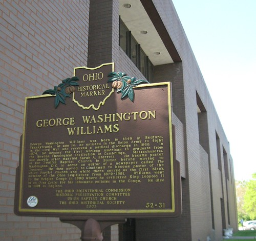 Ohio Historical Marker, Union Baptist Church