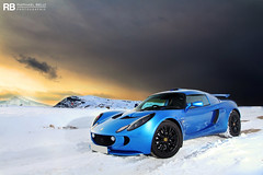 Space Exploration (Raphal Belly) Tags: pictures blue winter light snow cars car colin private photography eos is photo shoot photographie photoshoot lotus s right bleu belly exotic 7d laser raphael luxury rb bleue supercars chapman exige raphal sance worldcars