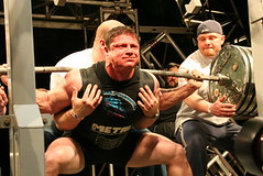 "Kroc in the hole with a big squat and no knee wraps at the 2006 Arnold Classic • <a style=""font-size:0.8em;"" href=""http://www.flickr.com/photos/77416569@N07/6942730419/"" target=""_blank"">View on Flickr</a>"