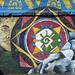 Bel murale nella piazza principale di Saraguro (2)