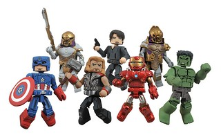 Marvel Minimates Series 45最新款造型!
