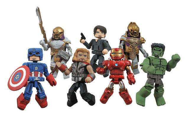 Marvel Minimates Series 45最新款造型!