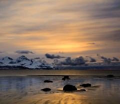Evening sun over Tromtind (John A.Hemmingsen) Tags: seascape reflection nature water colors clouds landscape msm nordnorge troms grtfjord nikkor1685dx nikond7000