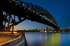 20120211_146.jpg (Rodney Campbell) Tags: city longexposure water twilight whirlpool photowalk harbourbridge gnd09