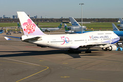 China Airlines - B-18208 - Amsterdam Schiphol (AMS) (Andrew_Simpson) Tags: china holland netherlands amsterdam taiwan cal boeing chinaairlines schiphol ams 747 jumbojet jumbo 747400 eham amsterdamairport amsterdamschiphol skyteam amsterdaminternationalairport b18208 skyteamalliance