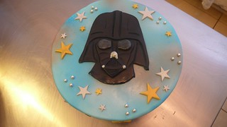 Lord Vader Cake
