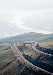 Loop (Chicken®) Tags: road usa river washington haze loop idaho valley snakeriver hazy curve hillside hairpin lewiston switchback clarkston