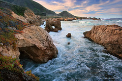 Big Sur Sea Arch @ Garrapata (Steve Sieren Photography) Tags: ocean california statepark sea photography coast fineart bigsur cliffs bluffs garrapata rugged seaarch