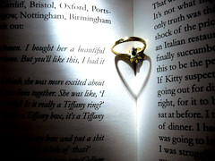 Tiffany Ring? (Hanna-) Tags: love book romance ring forever tiffany eternal