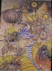 Mystic Death & Rebirth_26x36_c2007sm (LouisBraquet) Tags: original art pen ink sketch drawing originalart surrealism dream surreal fantasy surrealist dreamlike mythology unconscious penandink jungian freudian hallucinogenic psychoanalysis fantasticrealism subconscious psychoanalytical mythologicalart modernsurrealism modernsurrealist unconsciousimagery