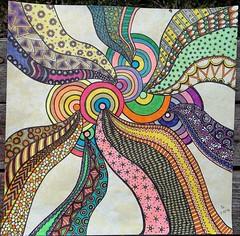 Zentangle #08 2-22-12