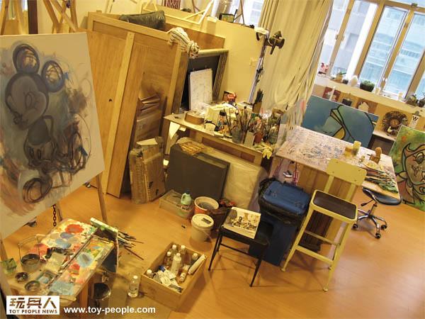 玩具探險隊前進香港Kenny's works studio!!!