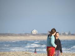 Enjoying the Ocean Breeze (Christina McCarty) Tags: ocean girls beach water breeze horseneckbeach