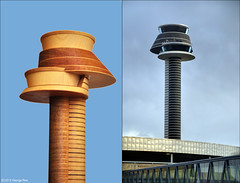 Control Tower / Arlanda (George Rex) Tags: sculpture architecture airport sweden stockholm sverige scandinavia controltower arlanda explored arlandaairport grxa23 photographygeorgerex georgerexphotography wingrdhsarchitekterab