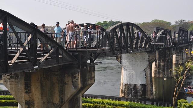 Khwae Yai River Bridge, Kanchanaburi, Thailand