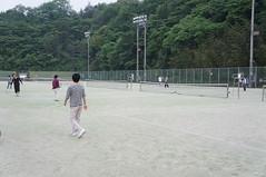 みんなでテニス