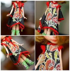 Art Blythe silk dress