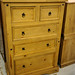 Waxed Pine Tall Unit