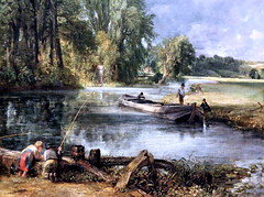IMG_1560O John Constable. 1776-1837. Stratford Mill. 1820.     Londres National Gallery. (jean louis mazieres) Tags: greatbritain london museum painting gallery unitedkingdom muse londres museo peintures peintres grandebretagne nationalgalleryjohn constablenational