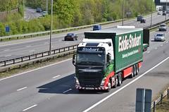 Eddie Stobart 'Caitlin Sofia' (stavioni) Tags: truck caitlin volvo sofia group lorry eddie trailer fh m4 esl stobart fh4 ku15vtz h4232
