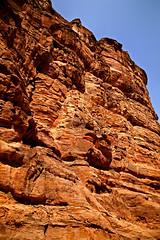 Path to the Monastery 43 (David OMalley) Tags: world city heritage rose rock stone site desert path petra siq carving unesco east jordan monastery arab middle carvings jordanian monumental jebel nabatean nabateans hewn maan almadhbah