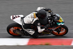 Number 717 KTM RC390 ridden by Jody Barry (albionphoto) Tags: usa honda nj racing ktm motorcycle yamaha suzuki 717 superbike supersport thunderbolt millville superstock1000 superstock600 amapro njmp motoamerica jodybarry ktmrccup