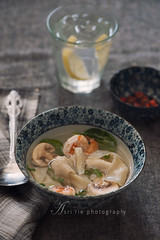 wonton soup (asri.) Tags: foodphotography 2016 105mmf28 foodstyling bakinghomemade