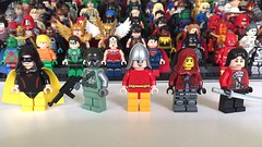 DC Characters: Who the f*** is Bullet Man? (-{Peppersalt}-) Tags: man lady comics robot justice dc lego super batman bullet heroes shiva society figures league villains gi minifigures hourman anarky