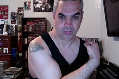 B12 SHOT DAY! (Jonathan C. Aguirre) Tags: boys muscles photobooth arms shots muscle tattoos strong biceps wolves flexing b12