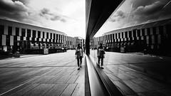 i I i (d26b73) Tags: blackandwhite bw reflection monochrome noiretblanc streetphoto schwarzweiss urbanarte xpro2