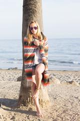 Blondes by the Beach (Jozef Arthur) Tags: ocean california santa beach girl female canon handmade jewelry barbara barefoot blonde barefeet