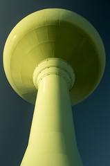 Looming Green (D.Spence Photography) Tags: green tower water industrial landmark 1957 reddeer spheroid