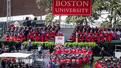 Boston University President Robert Brown Speaks (kuntheaprum) Tags: graduation commencement tamron bostonuniversity