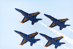Blue Angels Formation Flying (wowography.com) Tags: flying nikon aviation navy jet may airshow blueangels 28300mm jonesbeach hss 2016 fa18hornet memorialdayweekend d610 wowographycom 4993744