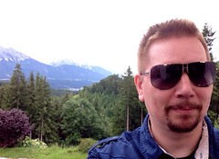 Greetings from Austria (MarkXYVL) Tags: nature sunglasses goatee austria tirol dita cascias tulfes