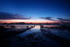 Danger marsh (Direct-out) () Tags: nightlights ngc sunsetglow