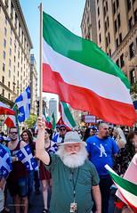 La Marche des  Patriotes. (Yakimo Bohio) Tags: qubec marche manif manifestation patriotes indpendance capsurlindpendance marchedespatriotes