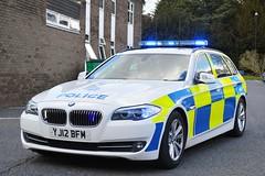 YJ12 BFM (S11 AUN) Tags: auto car estate traffic yorkshire north group police rpg bmw roads unit rpu nyp policing 530d anpr yj12bfm
